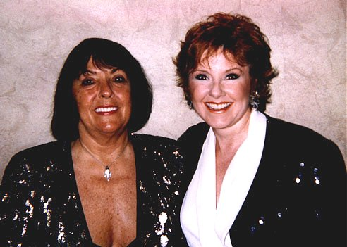 Lisa Donovan with Keely Smith